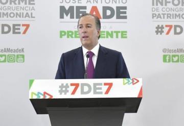 Meade presenta su declaración 7 de 7 y reta a rivales