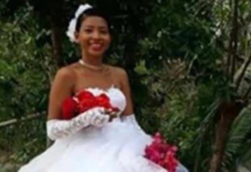 La inusual llegada de una novia mexicana a su boda