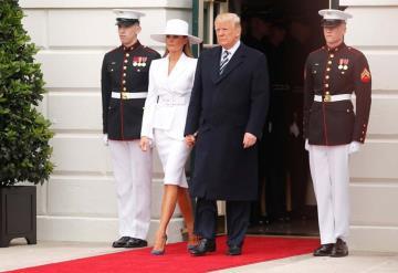 Melania Trump causa polémica con look de 75 mil pesos