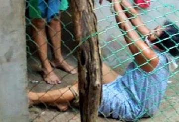 Madre agredida por sus hijos en Cunduacán exige justicia