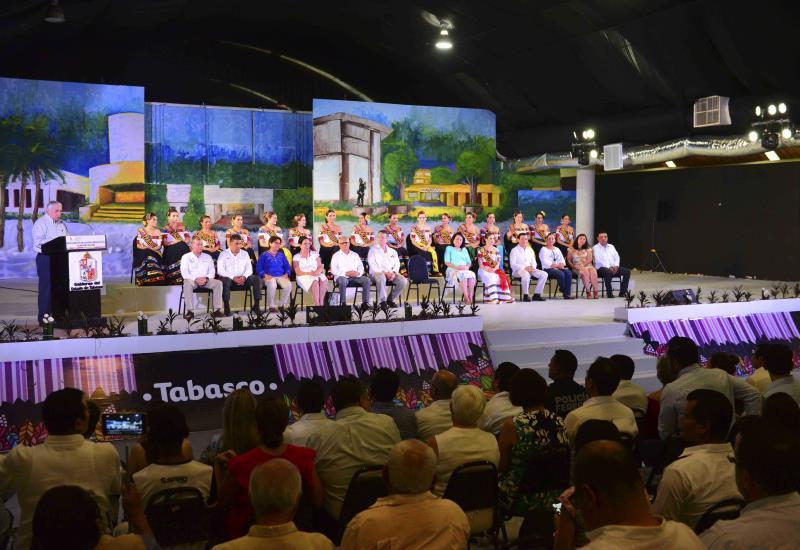 Así se vivió la inauguración de la Feria Tabasco 2018