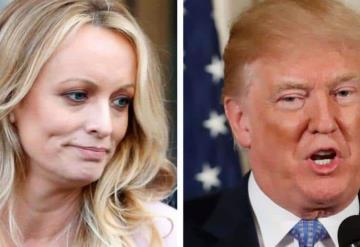 Actriz porno demanda a Trump por difamación