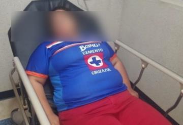 Joven intenta suicidarse con ácido, porque Cruz Azul no llegó a la Liguilla