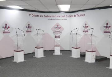 Todo listo para el debate en Tabasco