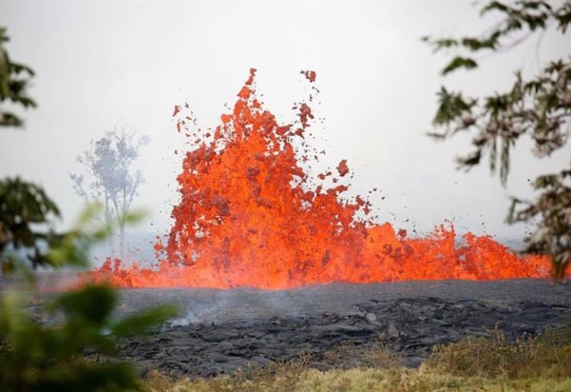 La imparable furia del volcán Kilauea