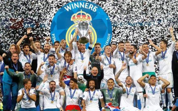 Real Madrid, tricampeón de la Champions League