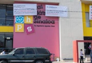 Sin biberones ni leche el Hospital Pediátrico de Sinaloa
