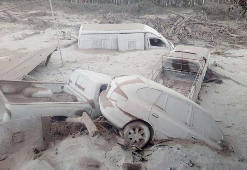 Así quedaron los poblados afectados por la erupción del Volcán de Fuego
