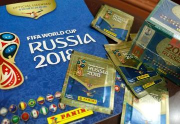 Roban 360 mil dólares en estampas del álbum del Mundial Rusia 2018