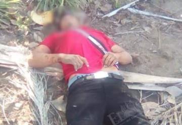 Ejecutan a presunto huachicolero en Cunduacán