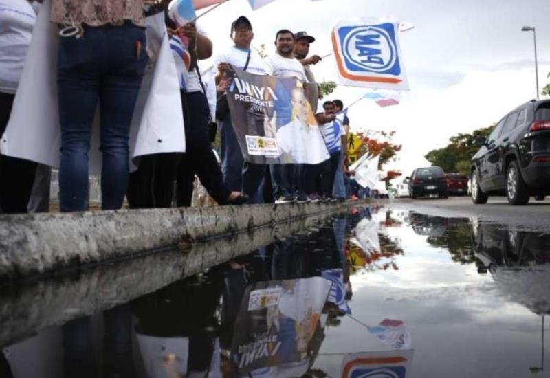 Así reciben a los candidatos en Mérida