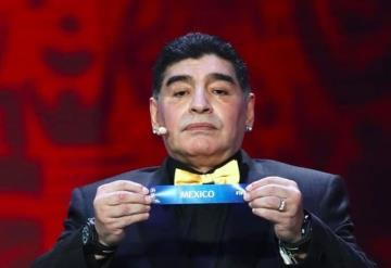 México no lo merece, dice Maradona sobre el Mundial de 2026