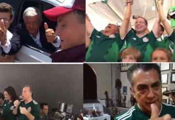 Presidenciables celebran el triunfo de la Selección en el Mundial