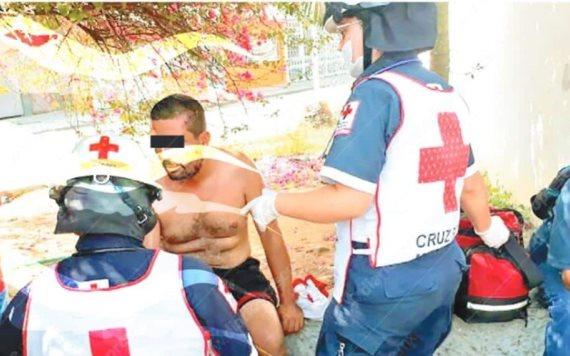 Atacan a balazos a un hombre en Villahermosa