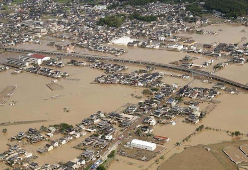 Fotogalería: Inundaciones Japón deja hasta el momento más de 100 muertos