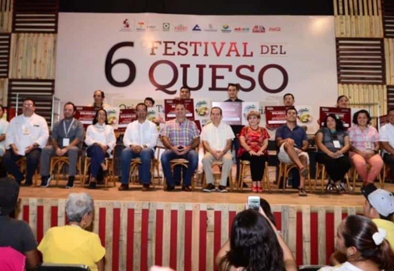 Estos fueron los mejores quesos del 6° Festival celebrado en Tenosique