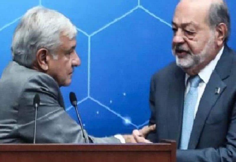 Carlos Slim es un gran ingeniero y un ejemplo para el mundo: AMLO