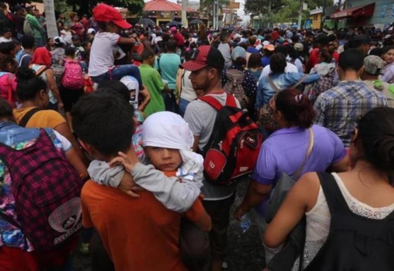 ONU ayudará a México por caravana migrante