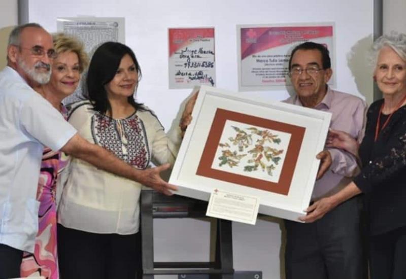Cruz Roja entrega premio al ganador del sorteo organizado por la Institución
