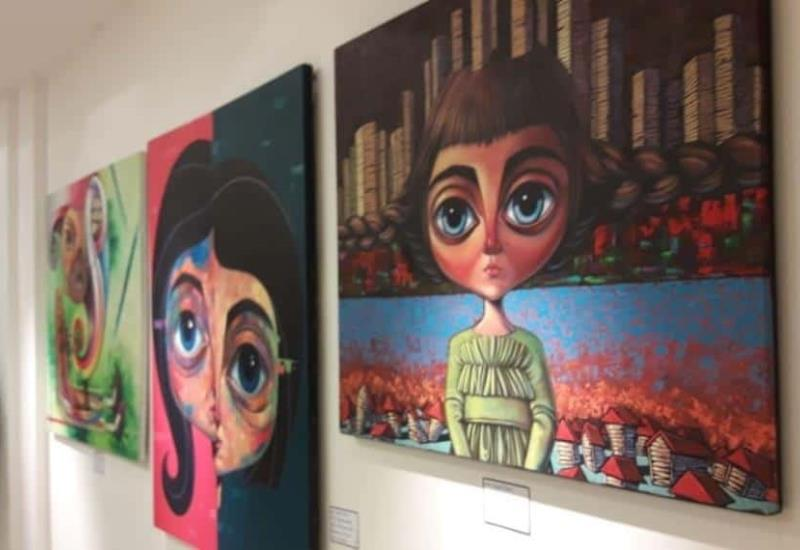 Exponen arte contemporáneo en beneficio de la Cruz Roja Tabasco