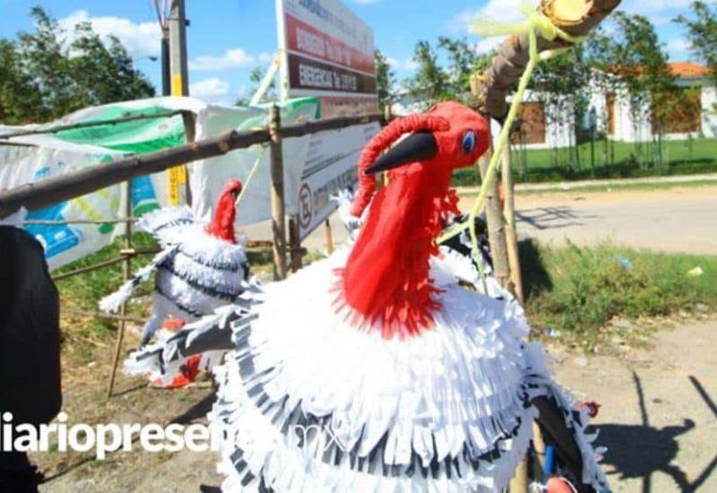 Ármate para tu posada con las piñatas de pavo, están en Villahermosa