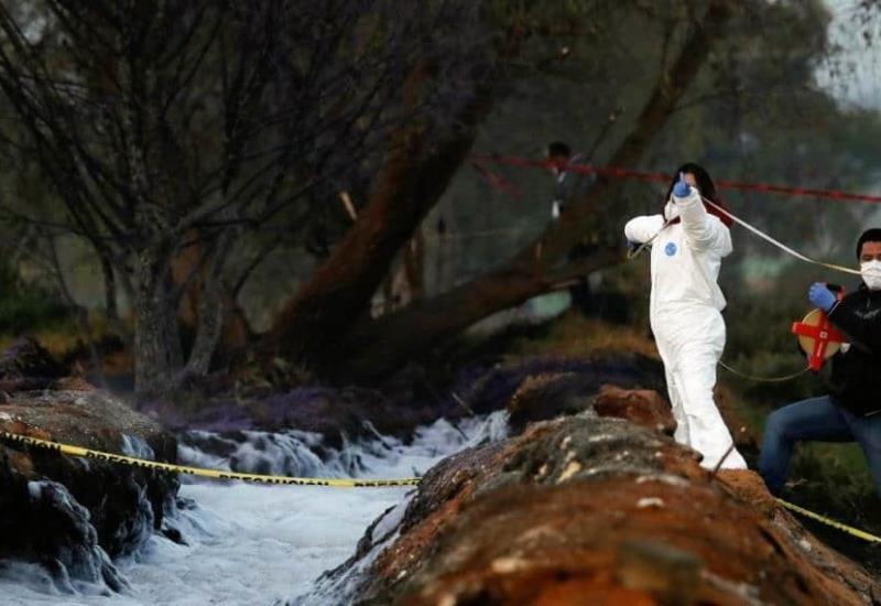 Las imágenes después de la tragedia en Tlalhuelilpan , Hidalgo