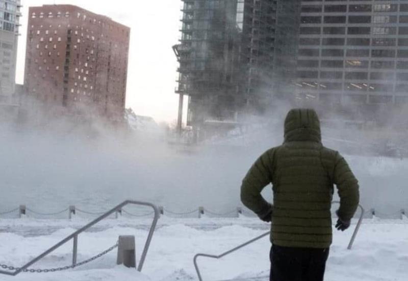 Se congela Chicago; aquí las impresionantes imágenes