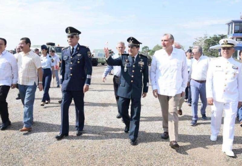 Conmemoran el 104 aniversario de la Fuerza Aérea Mexicana en Macuspana