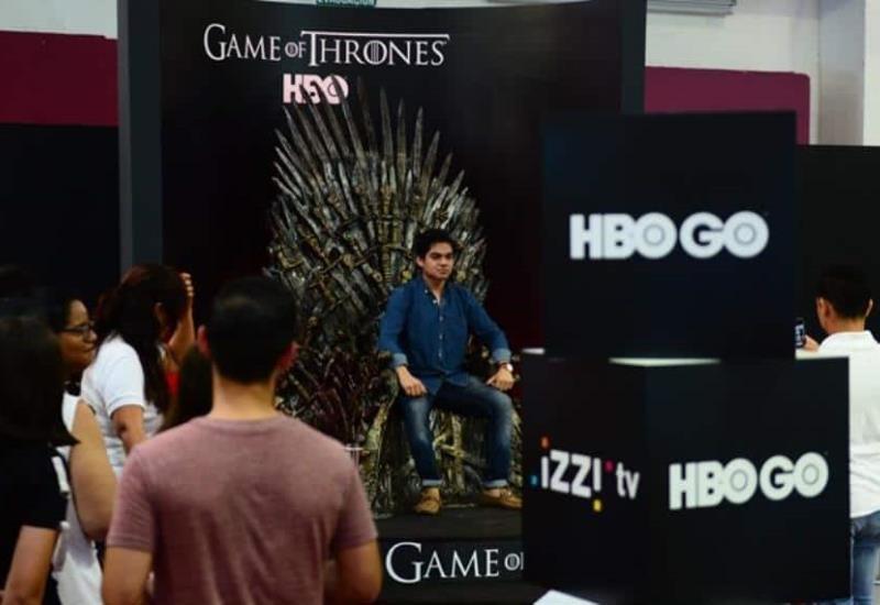 HBO se luce en la Feria con 'Game of Thrones'