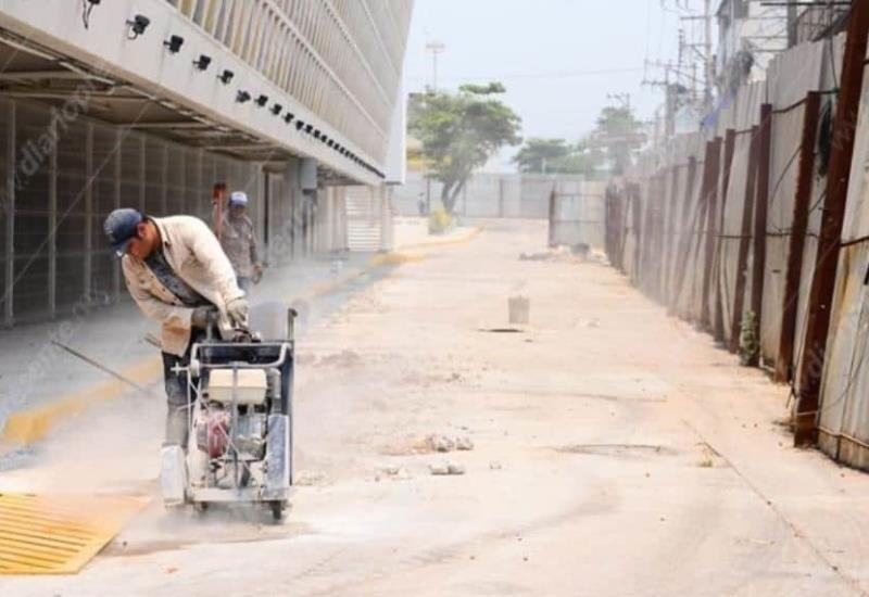Así luce la zona del mercado Pino Suárez, libre de vendedores ambulantes