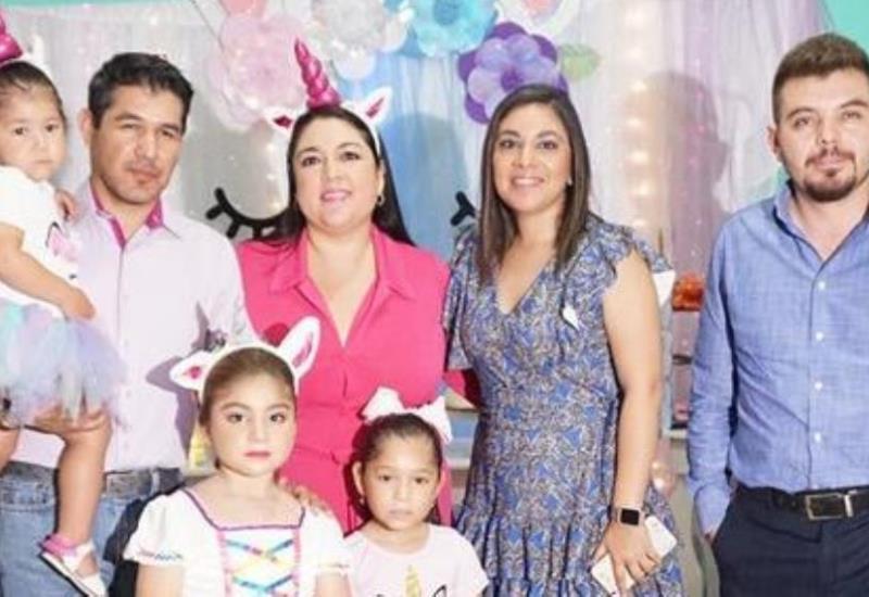 Colorido festejo de las pequeñas Pamela, Talina y Aytana