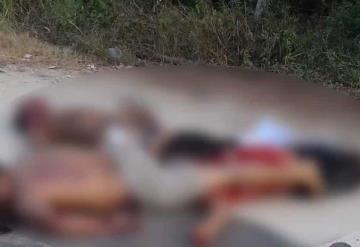 Ejecutan a tres presuntos ladrones en Cárdenas, presentan signos de tortura