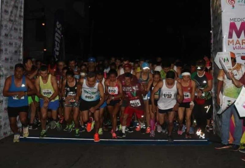 Todo un éxito el Medio Maratón de Villahermosa 2019
