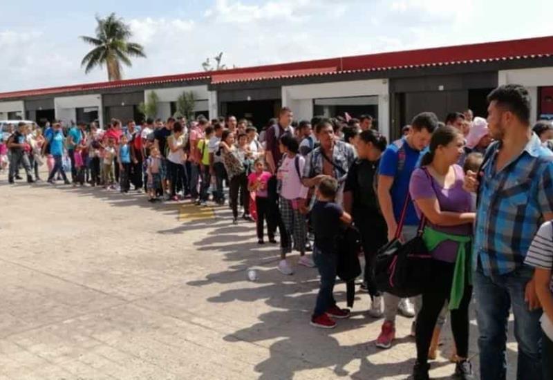 Rescatan 132 Hondureños en motel de Tabasco