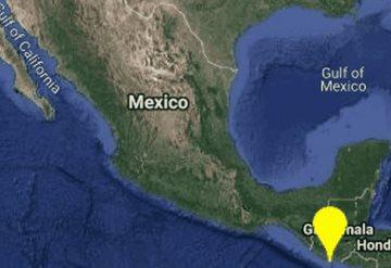 Sismo de magnitud 5.7 se siente en Chiapas