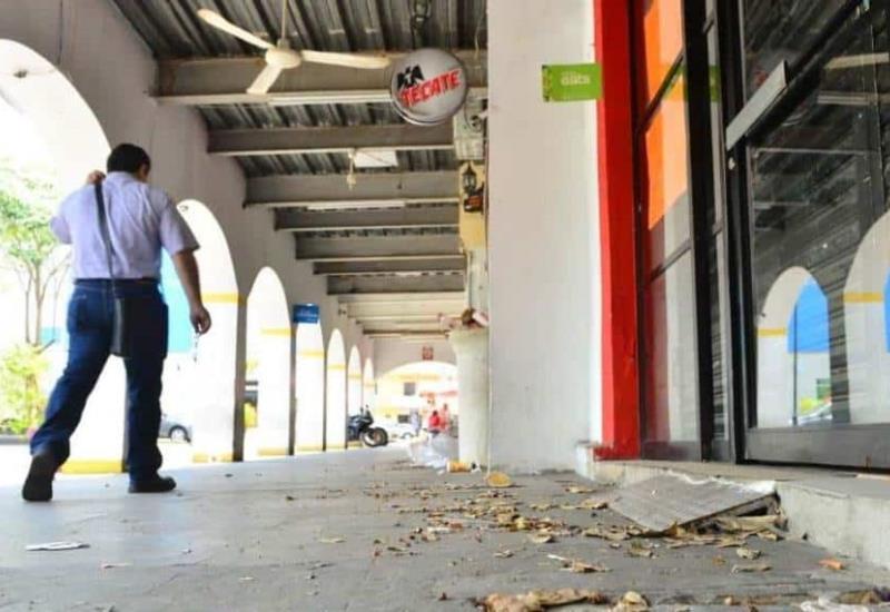 Así luce el Centro Histórico de Villahermosa por emergencia sanitaria