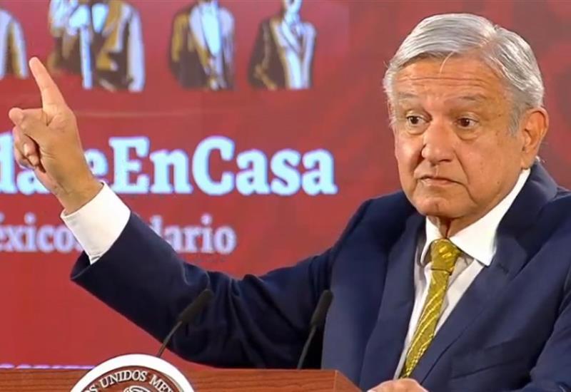Crisis de salud en México es 'pasajera': AMLO