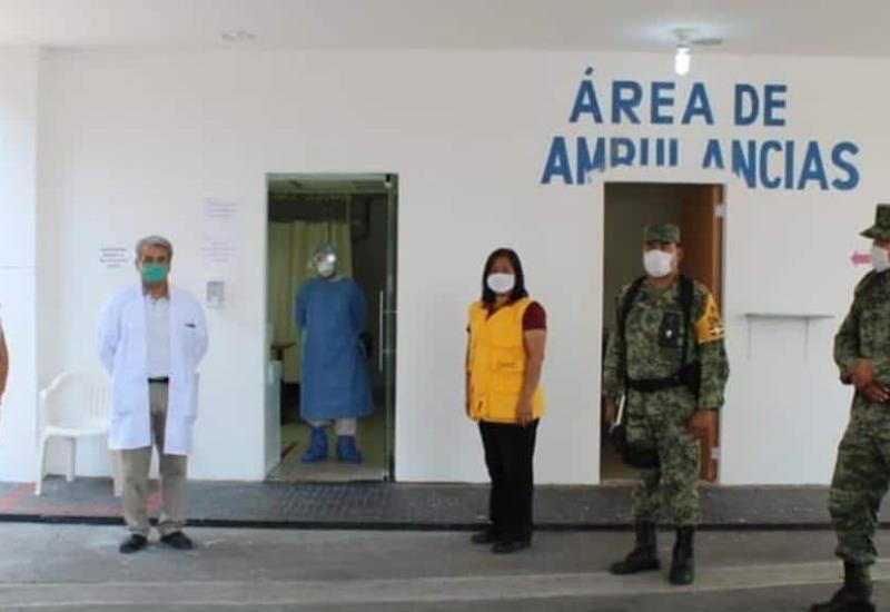 SEDENA supervisa hospital en donde serán atendidos pacientes con COVID-19