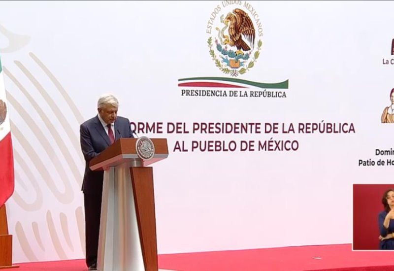 ¿Qué dijo el presidente Andrés Manuel López Obrador en su informe de este 5 de abril?