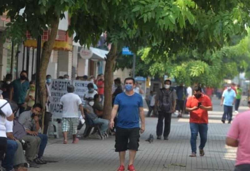 Así lució el Centro de Villahermosa este viernes 15 de mayo