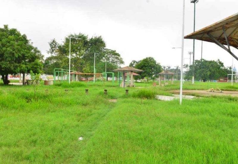 En abandono parques de Gaviotas