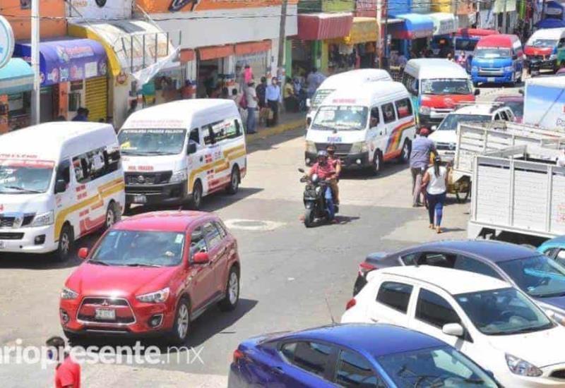 Así opera el transporte público en Villahermosa tras eliminación del hoy no circula