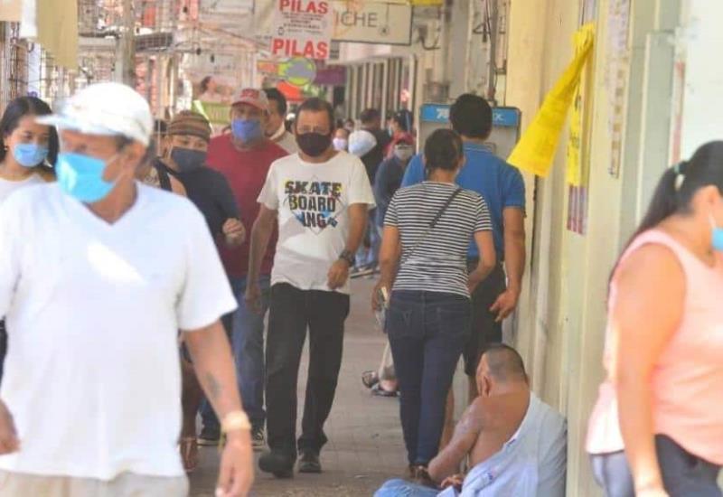 Así luce la nueva normalidad en Centro Histórico de Villahermosa