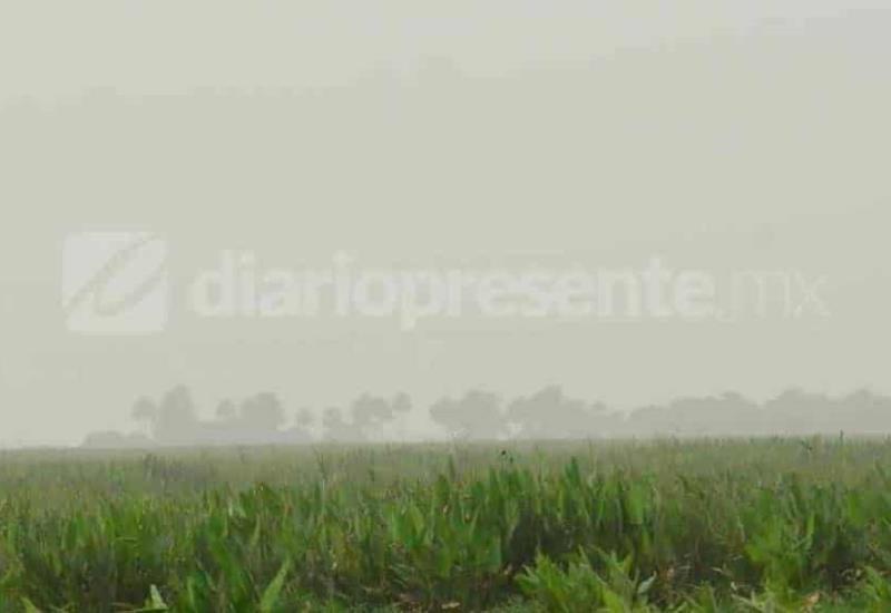 Así se ve el polvo del Sahara en Villahermosa