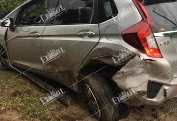 Reportan accidente vehicular en la carretera Cárdenas - Villahermosa