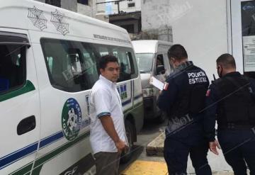 Chóferes de combis se enfrentan en terminal de Villahermosa