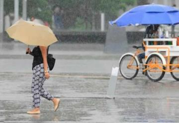 Prevalecerán lluvias fuertes en La Sierra, Los Ríos y  Zona Costera de Tabasco