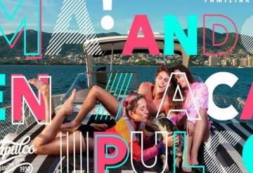 Mamá, estoy en Acapulco, la campaña que quiere atraer a los jóvenes para reactivar el turismo