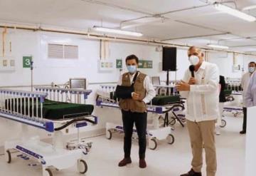 Garantizan salud de tabasqueños con nueva Unidad Temporal Hospitalaria