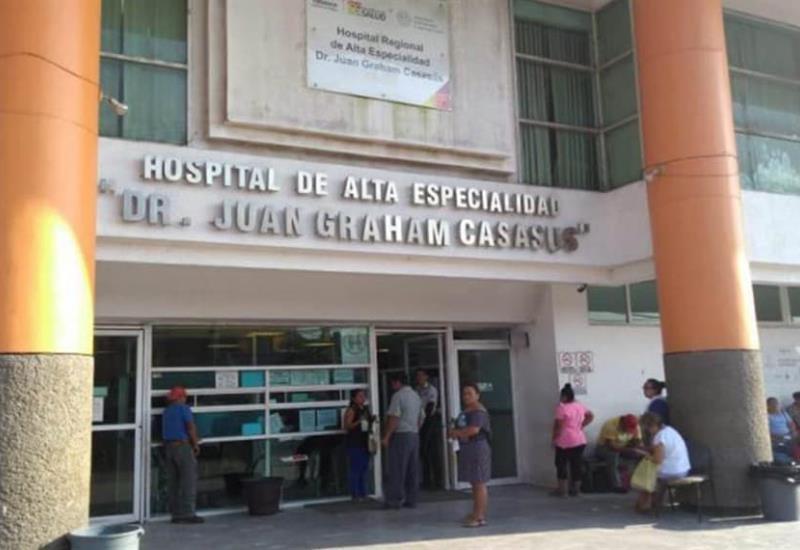 88 pacientes hospitalizados por Covid-19 en Tabasco
